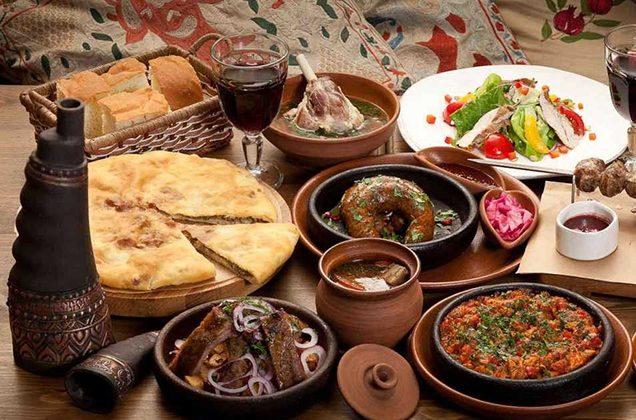 Национальные блюда осетии рецепты с фото