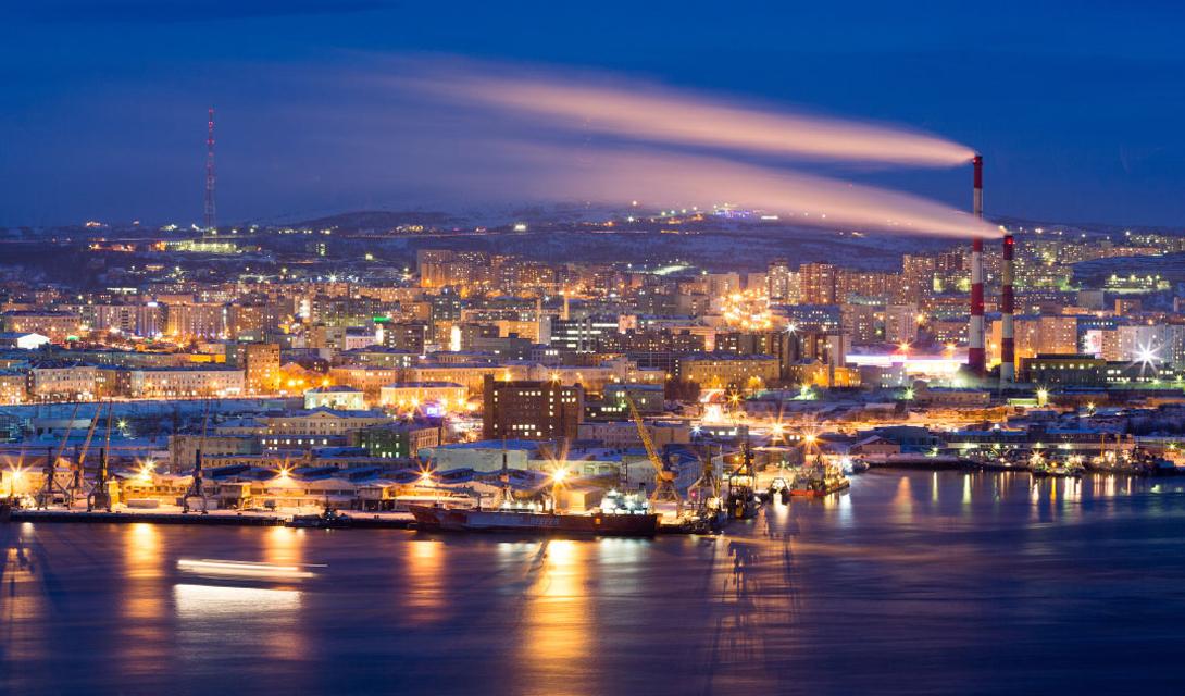 данной подборке фотоснимки панорама города мурманска выразить огромную
