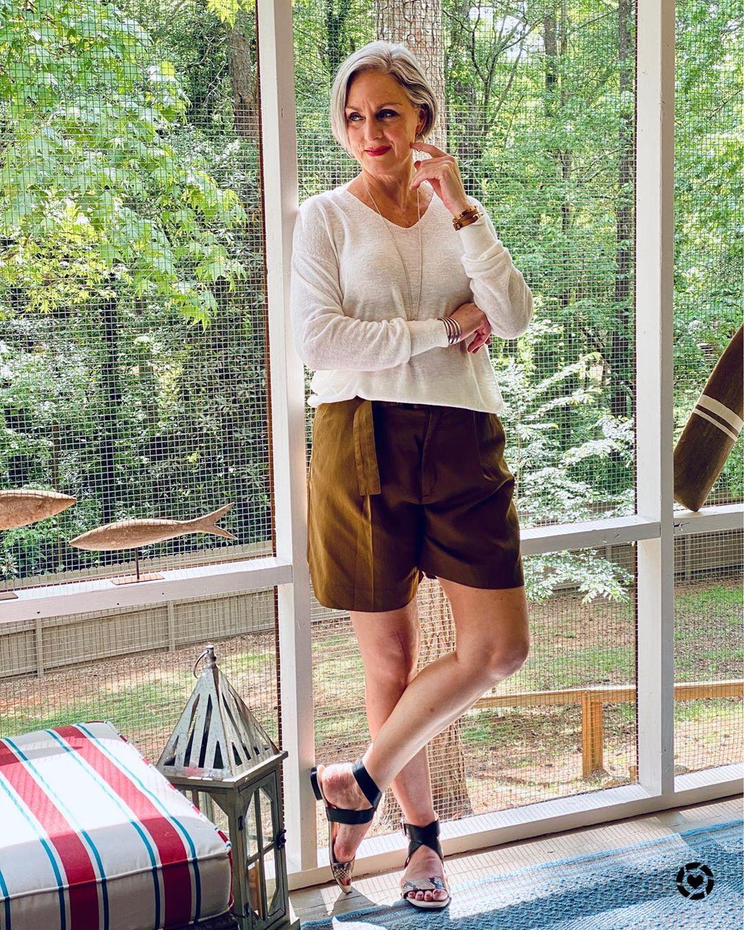 Базовый летний гардероб для женщин 40-50 лет