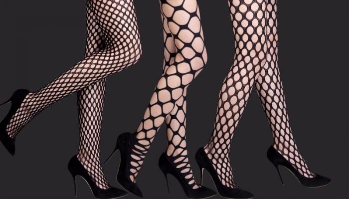 Узоры на колготках, которые добавляют лишние килограммы ногам