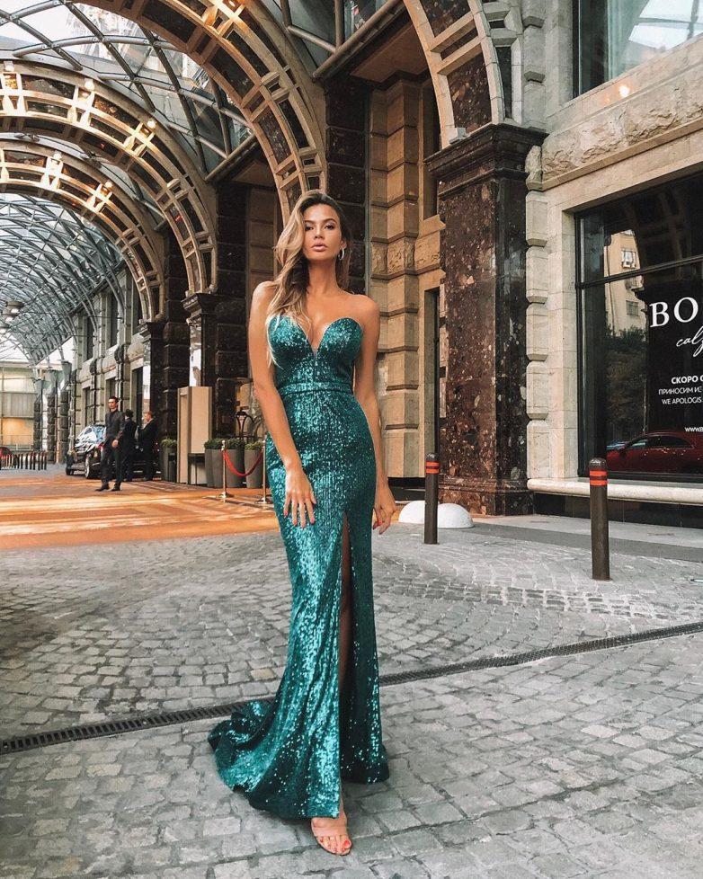 Шикарные платья макси