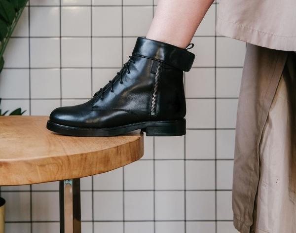 Как и с чем носить грубые ботинки