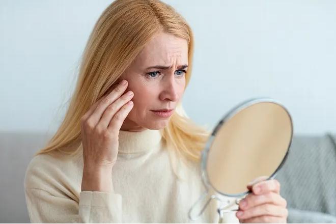 Что происходит с кожей во время менопаузы