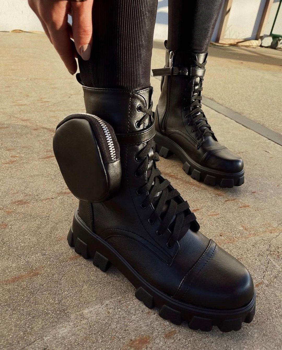 Стильная весенняя обувь без каблука