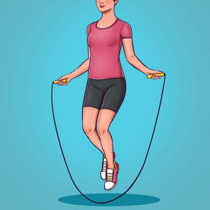 Упражнения, которые сжигают больше калорий, чем бег